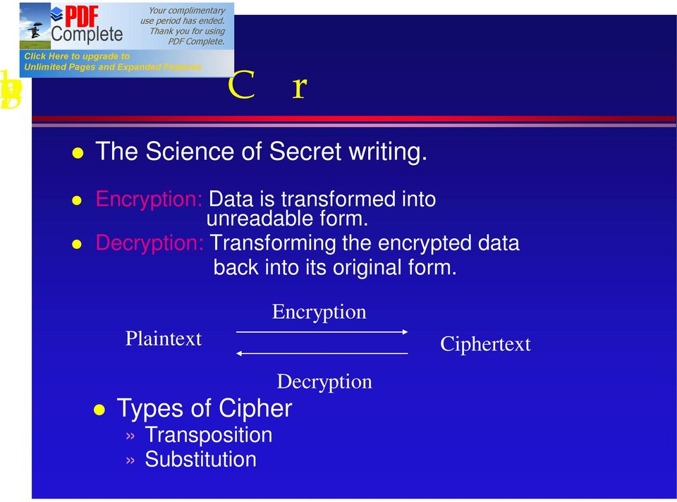 Decryption: Transforming the encrypted data back into its