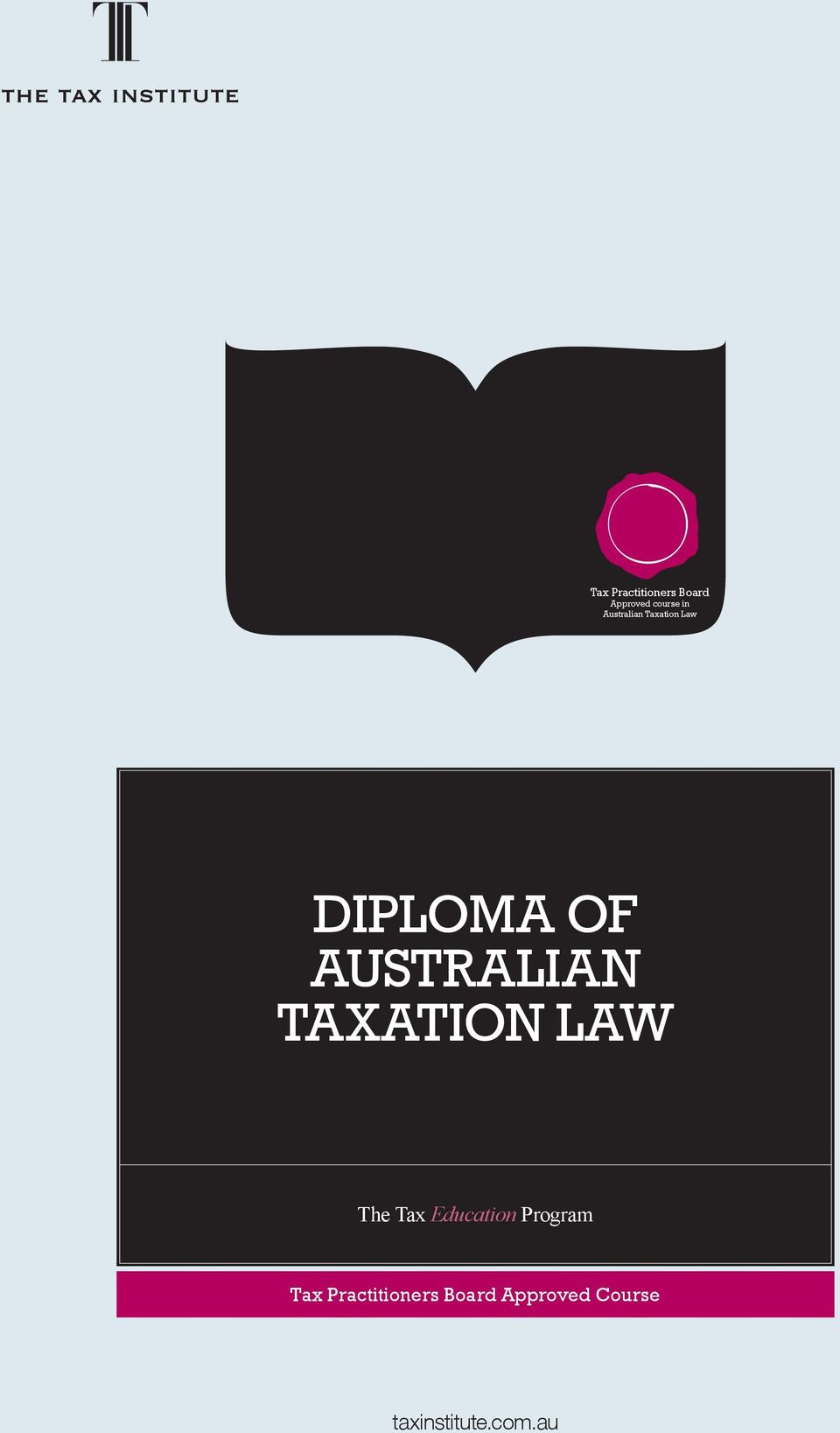 TAXATION LAW The Tax Education Program Tax