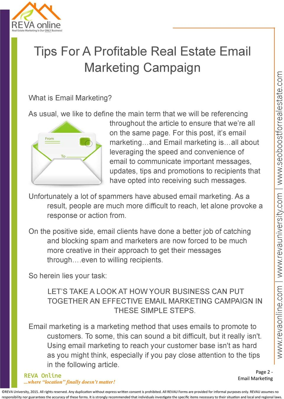 For this post, it s email marketing and Email marketing is all about leveraging the speed and convenience of email to communicate important messages, updates, tips and promotions to recipients that