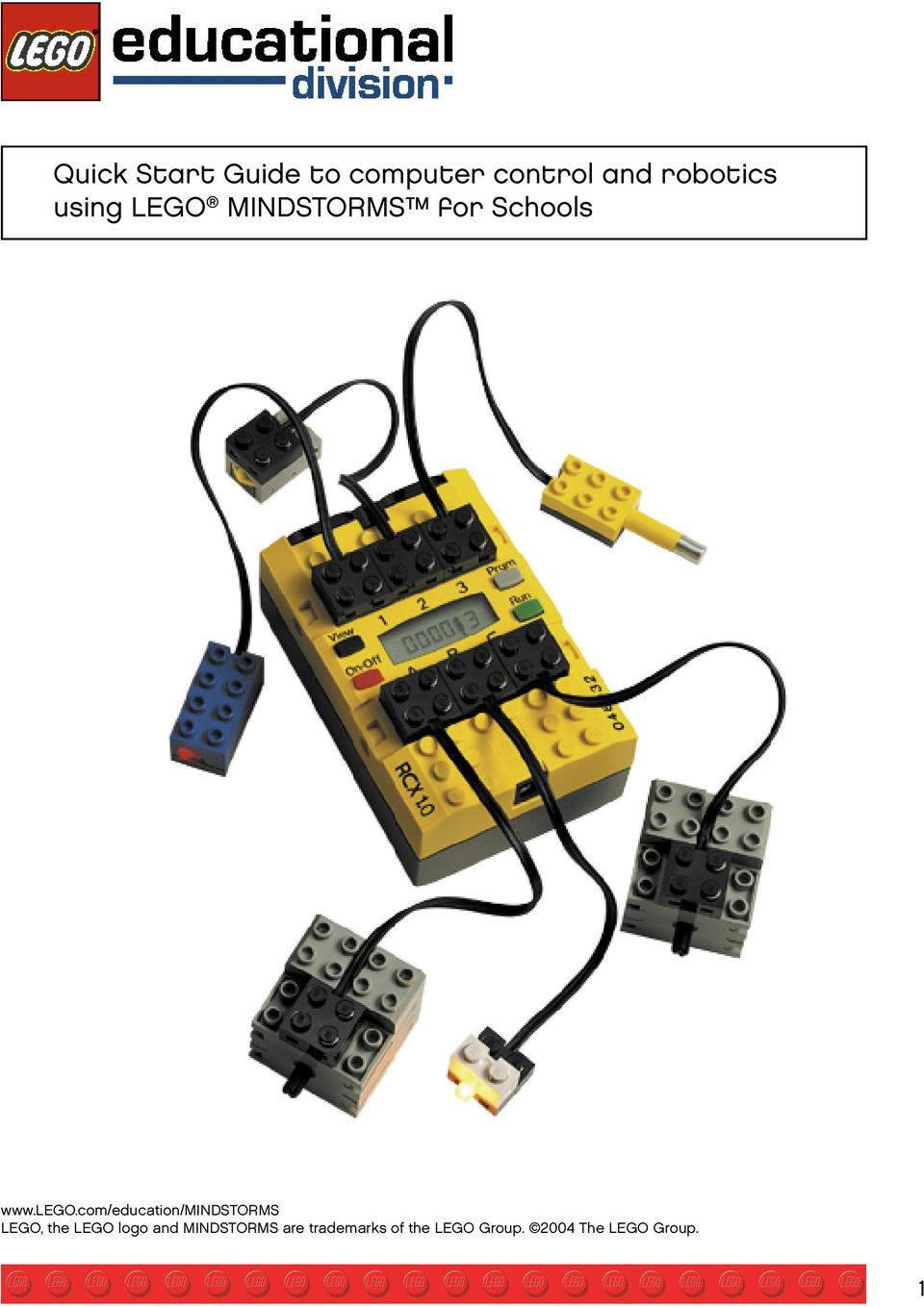 com/education/mindstorms LEGO, the LEGO logo and