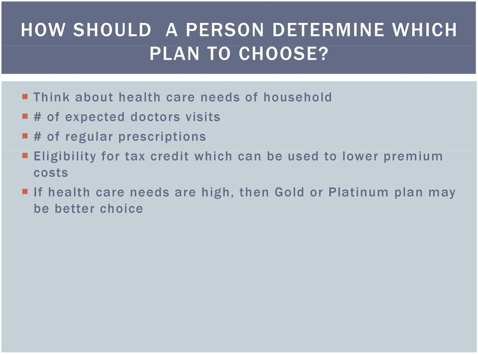 of regular prescriptions Eligibility for tax credit which can be used to