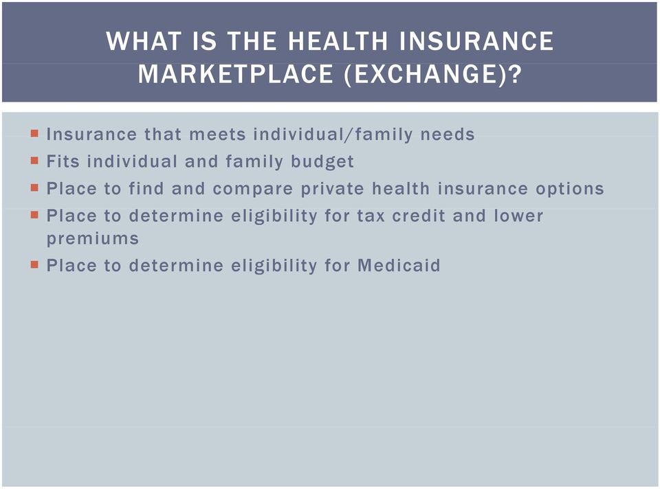 budget Place to find and compare private health insurance options Place to