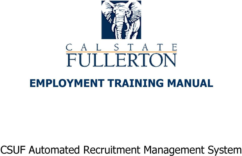 CSUF Automated