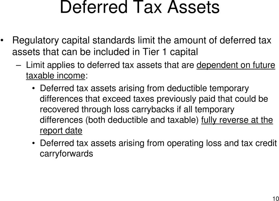 differences that exceed taxes previously paid that could be recovered through loss carrybacks if all temporary differences