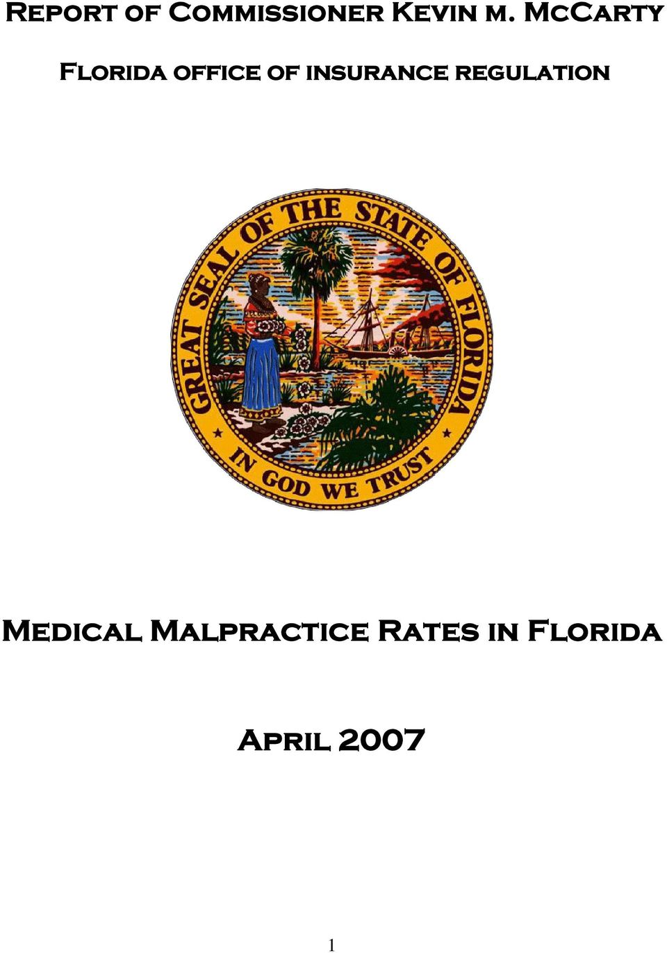 insurance regulation Medical