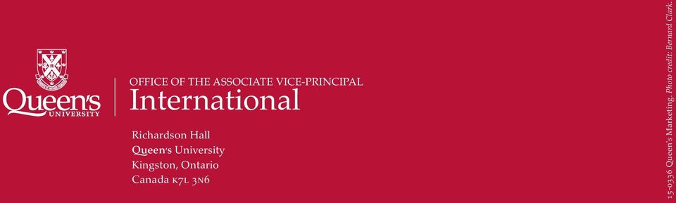 n TE V a IC l E-PRINCIPAL Richardson Hall Queen s