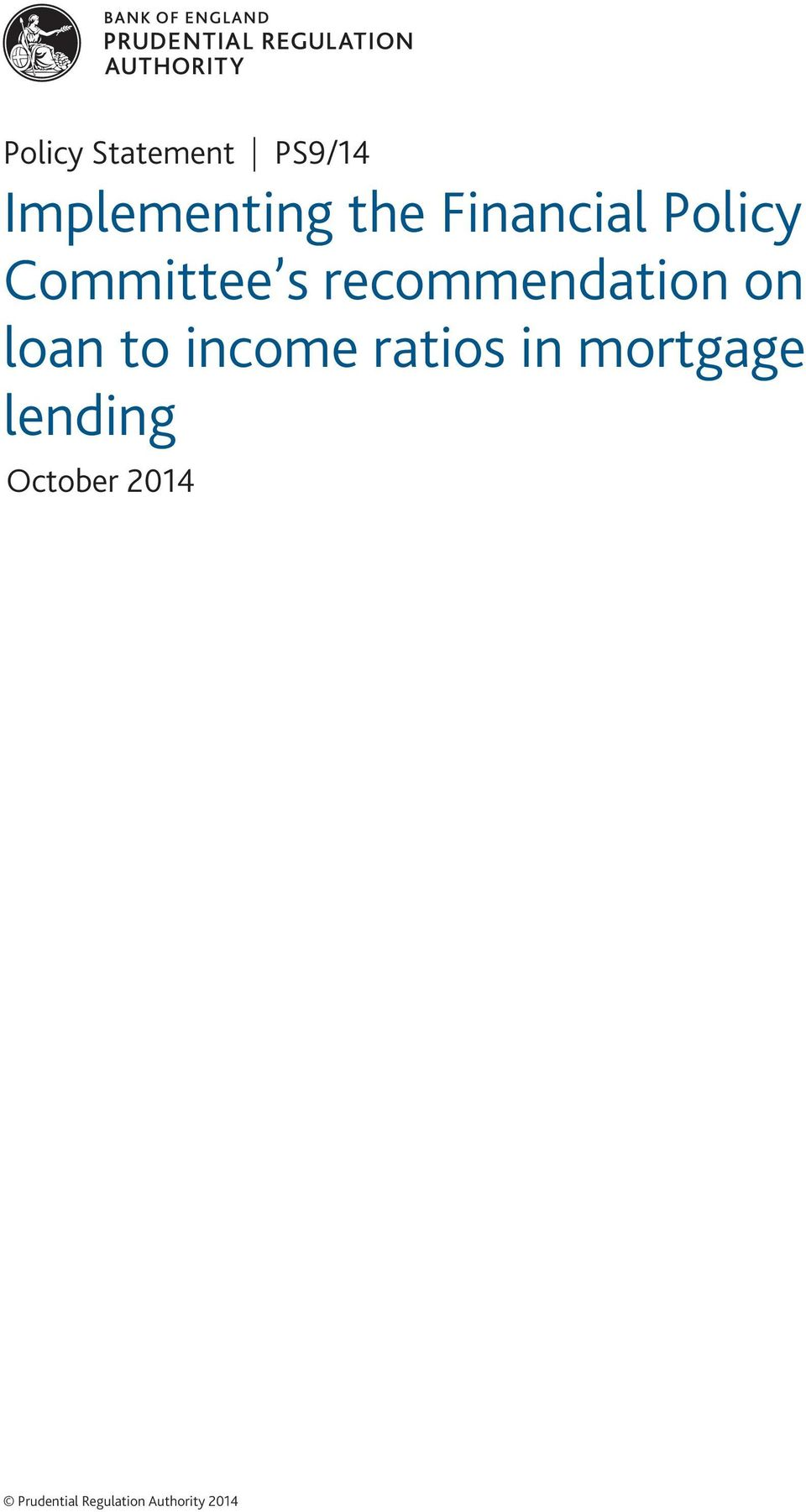 on loan to income ratios in mortgage lending
