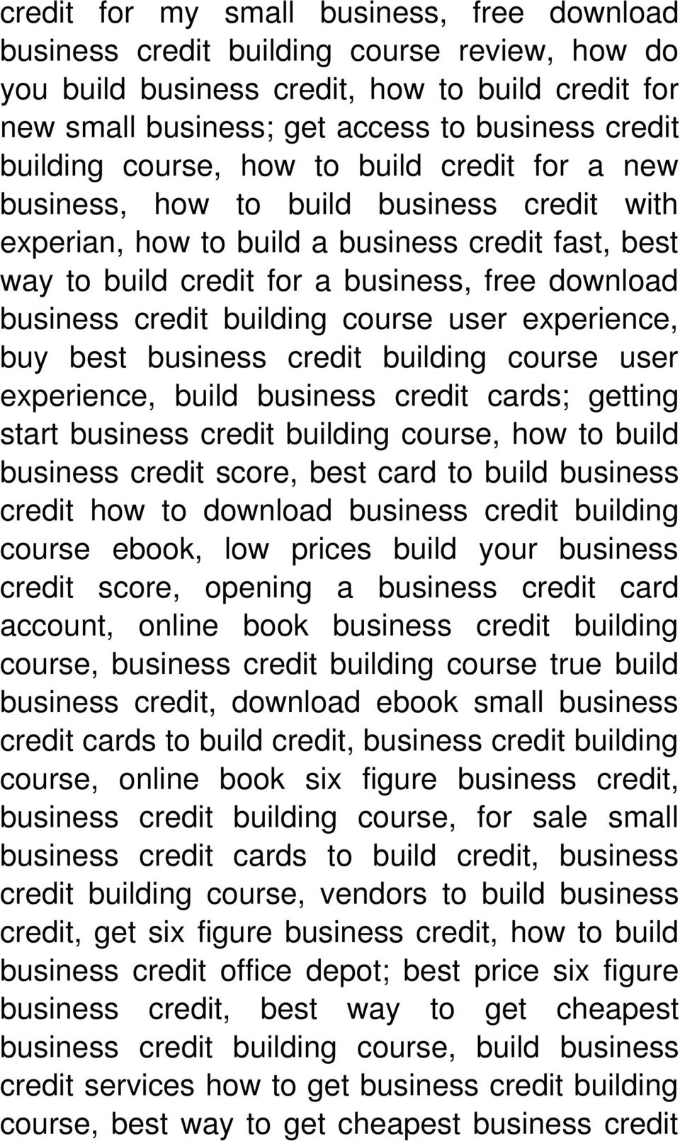 business credit building course user experience, buy best business credit building course user experience, build business credit cards; getting start business credit building course, how to build