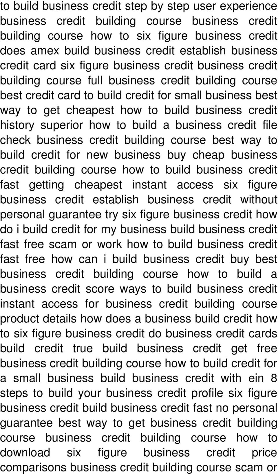 to build business credit history superior how to build a business credit file check business credit building course best way to build credit for new business buy cheap business credit building course
