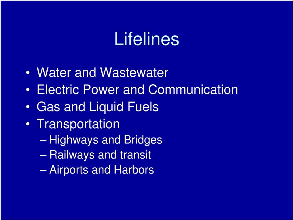 Fuels Transportation Highways and