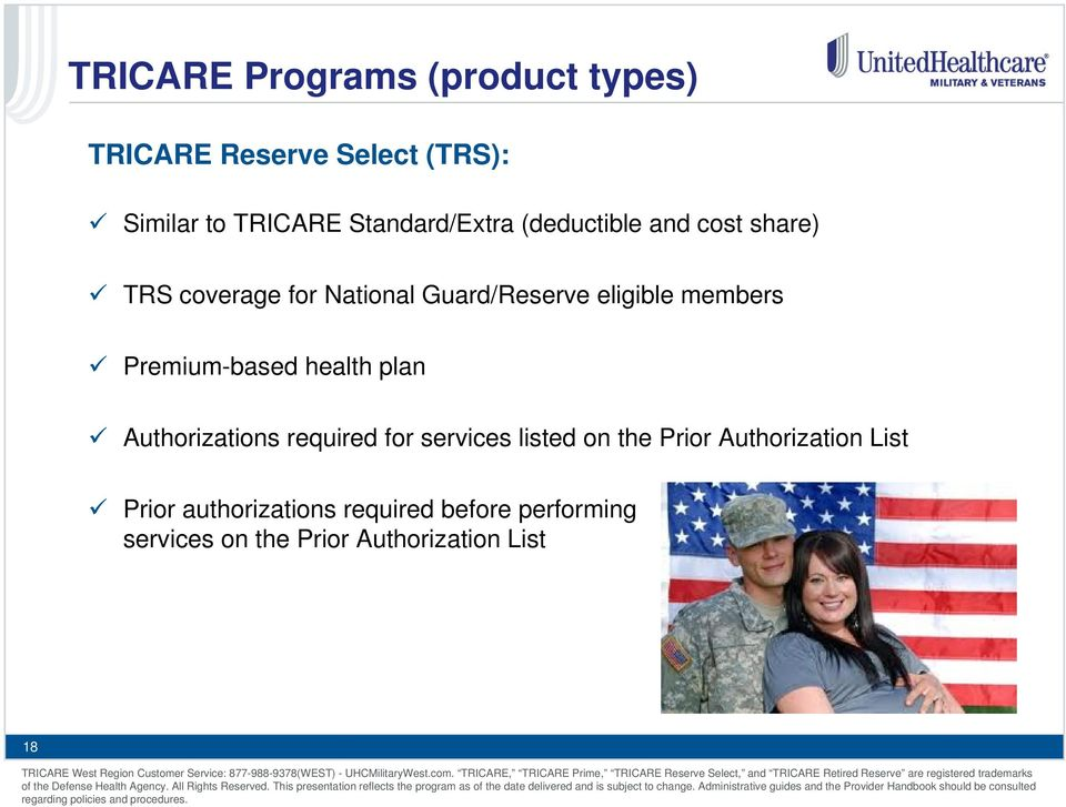members Premium-based health plan Authorizations required for services listed on the Prior