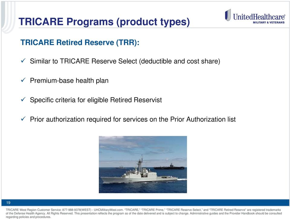 Premium-base health plan Specific criteria for eligible Retired