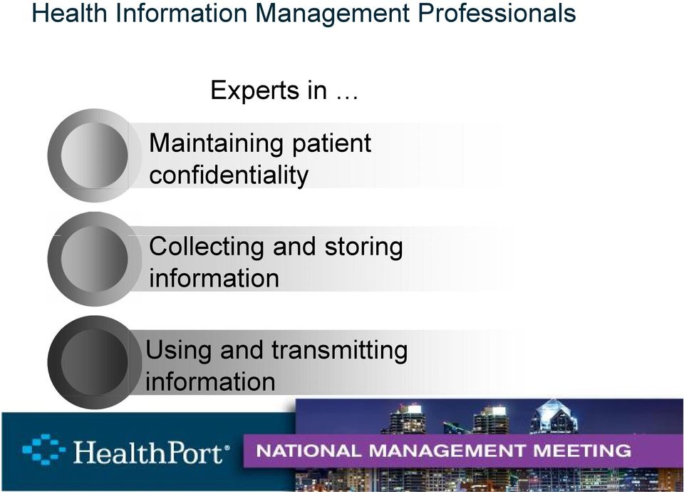patient confidentiality Collecting and