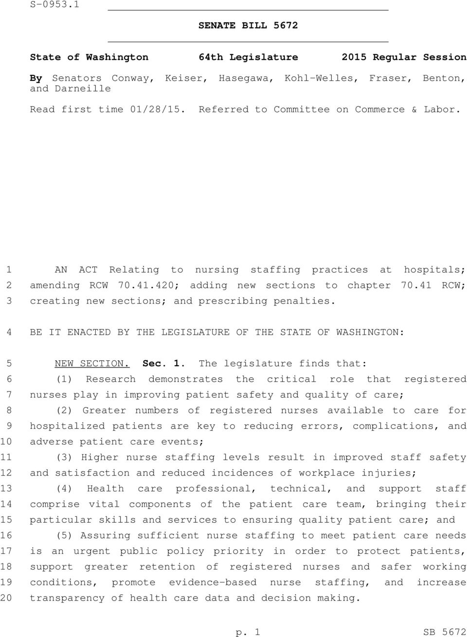 1 RCW; creating new sections; and prescribing penalties. BE IT ENACTED BY THE LEGISLATURE OF THE STATE OF WASHINGTON: 1
