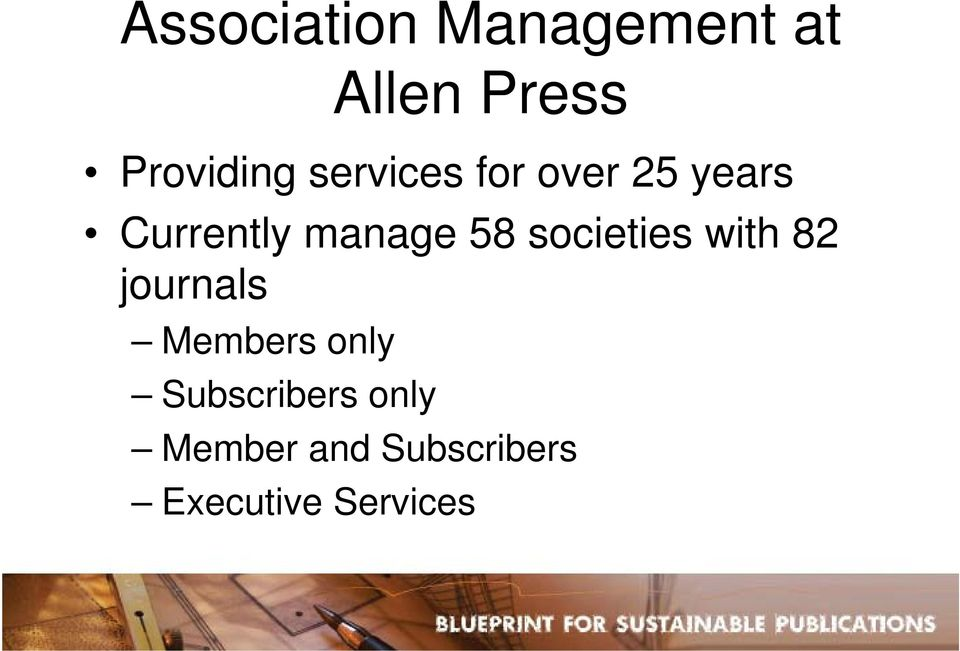 societies with 82 journals Members only