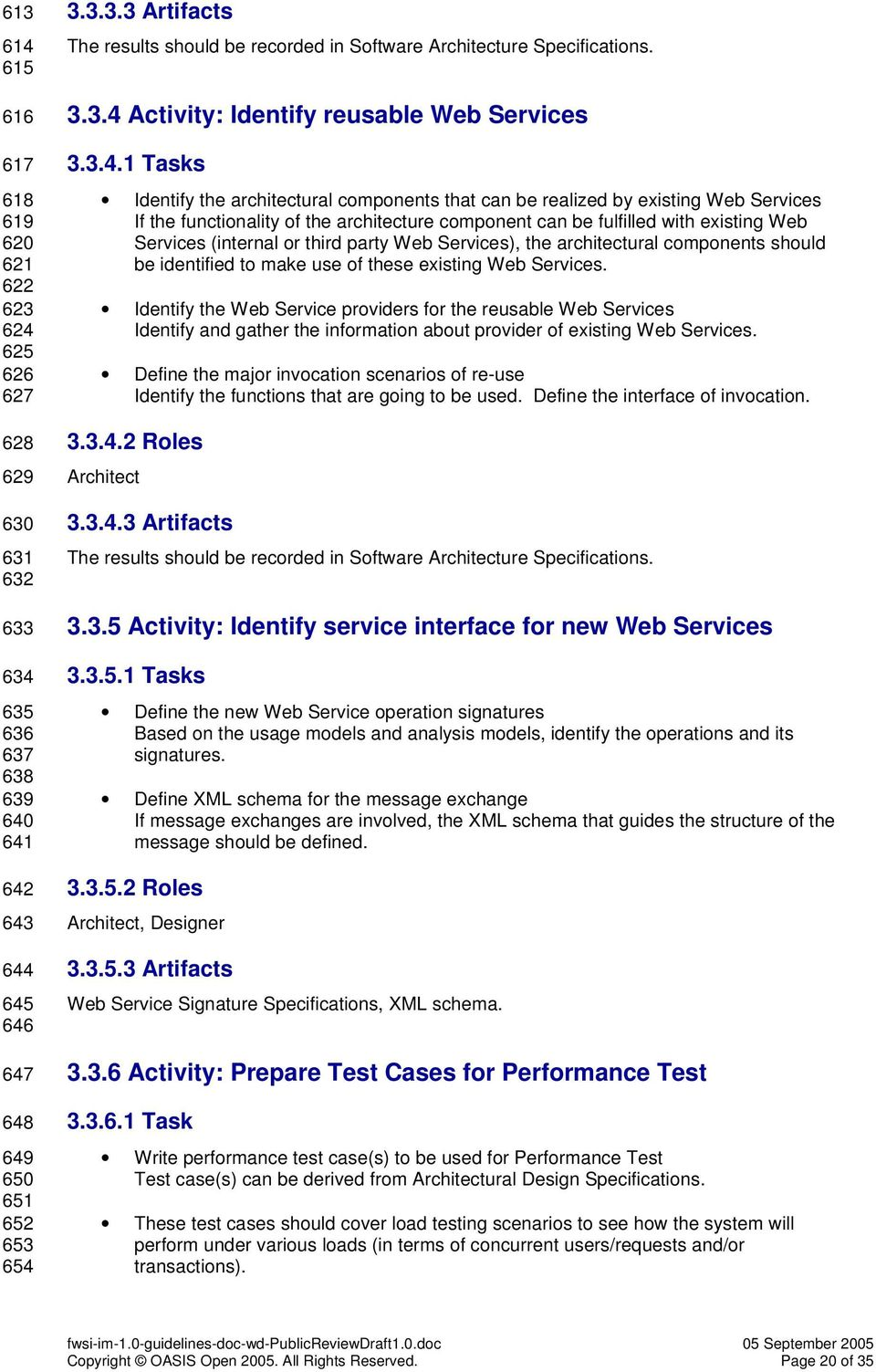 Activity: Identify reusable Web Services 3.3.4.