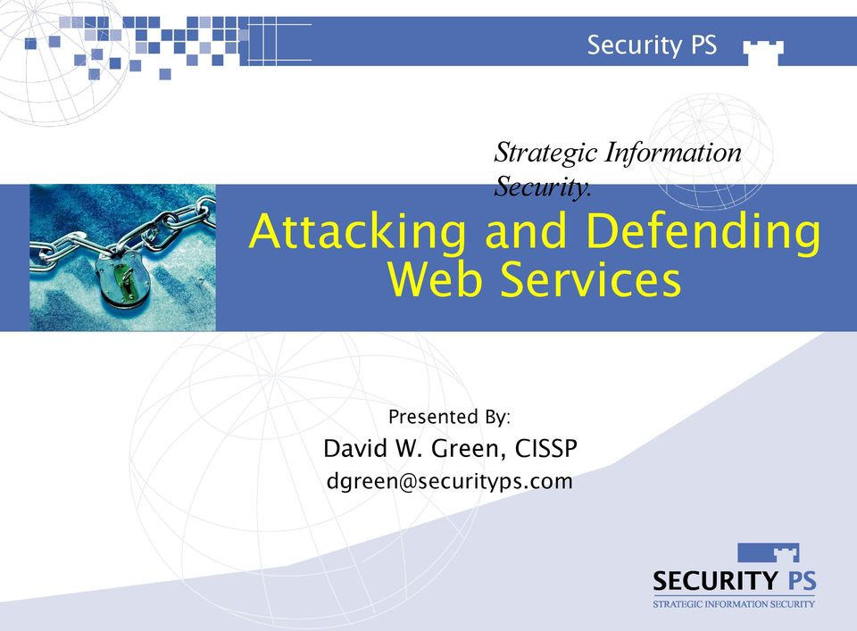 Attacking and Defending Web