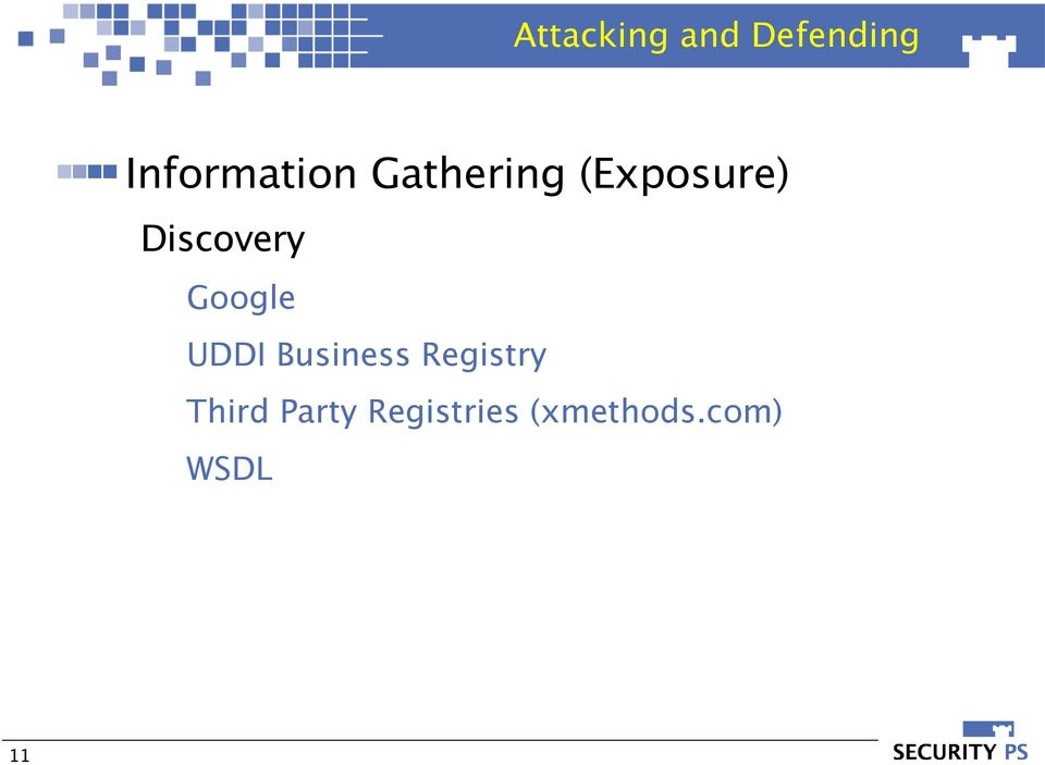 Google UDDI Business Registry Third