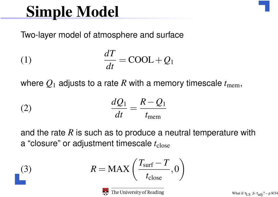 and the rate R is such as to produce a neutral temperature with a closure or