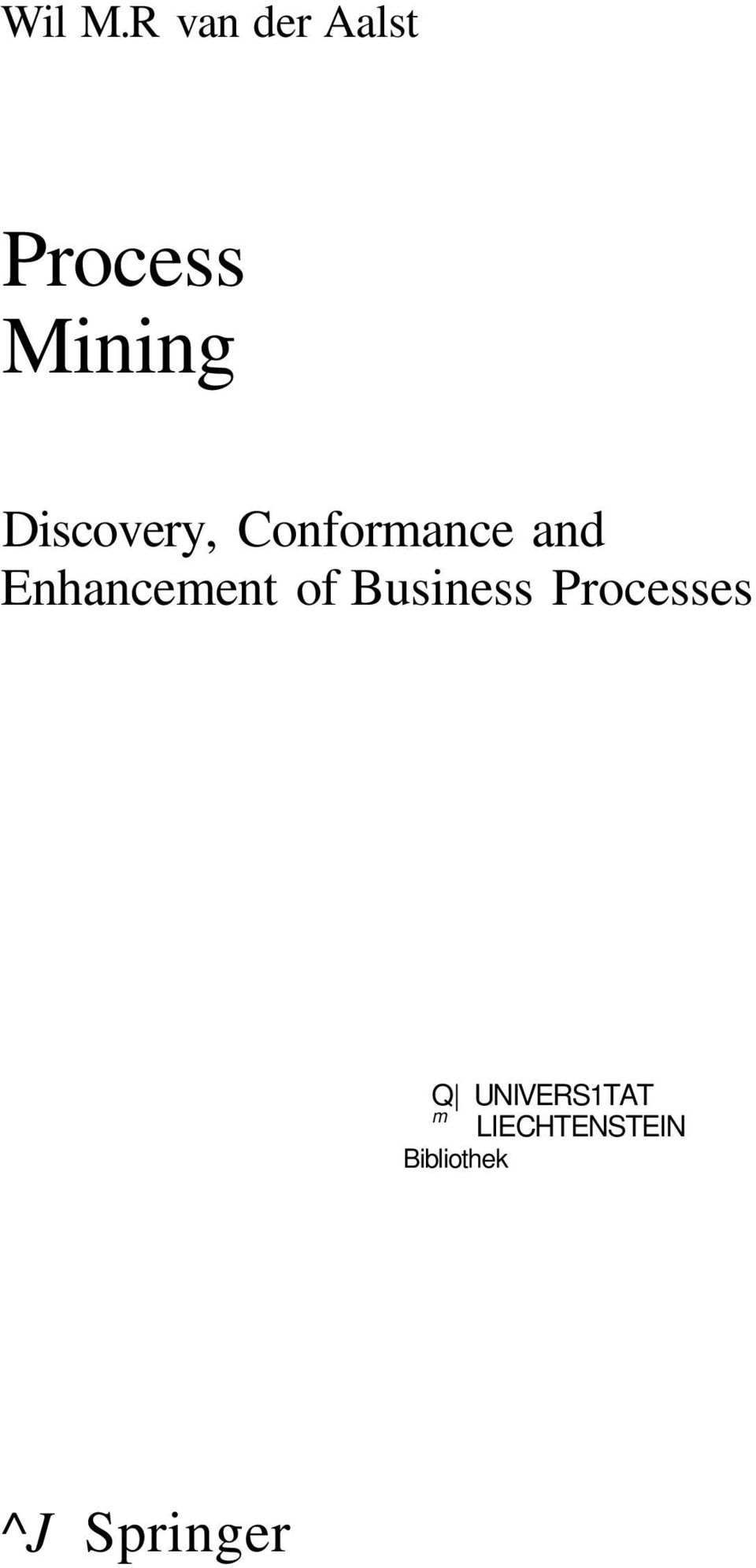 Discovery, Conformance and