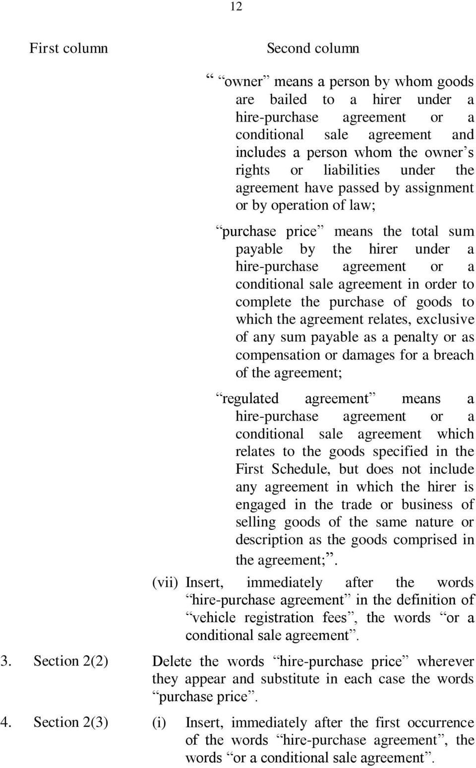 complete the purchase of goods to which the agreement relates, exclusive of any sum payable as a penalty or as compensation or damages for a breach of the agreement; regulated agreement means a