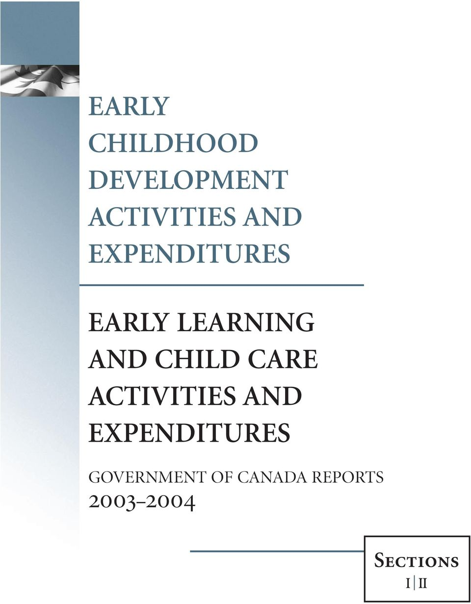 CARE ACTIVITIES AND EXPENDITURES