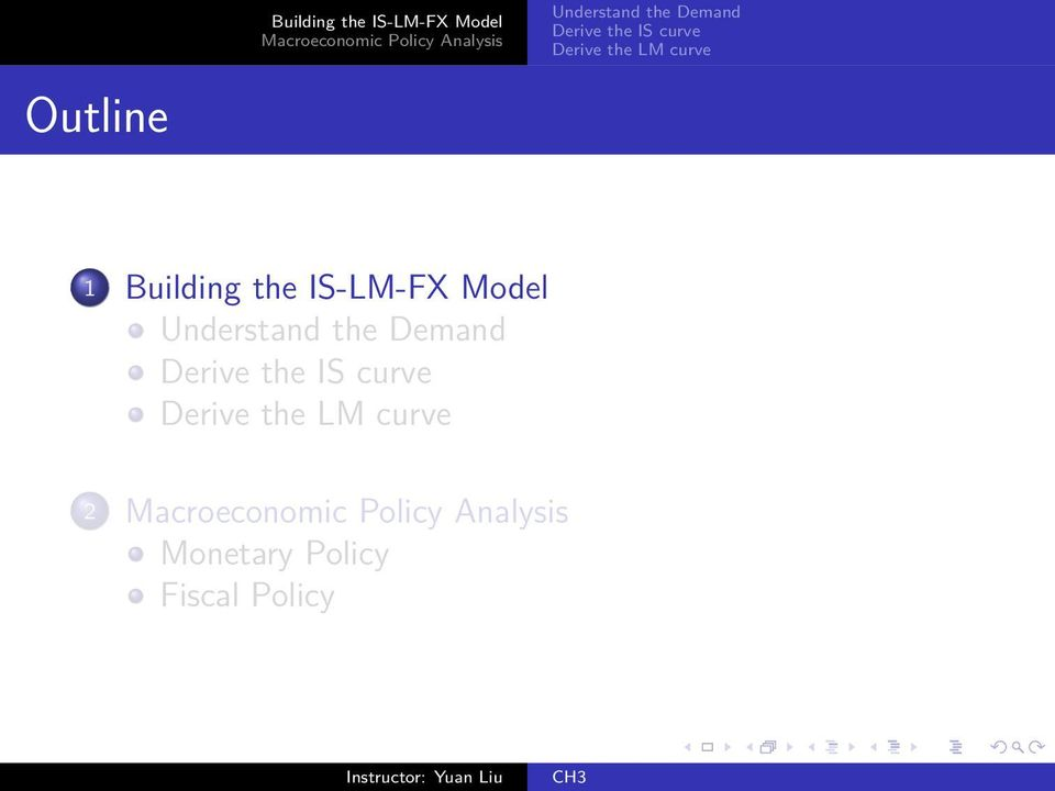 Building the IS-LM-FX
