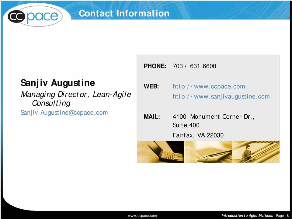 Augustine@ccpace.com WEB: MAIL: http://www.ccpace.com http://www.