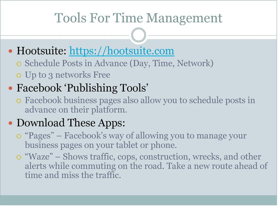 also allow you to schedule posts in advance on their platform.