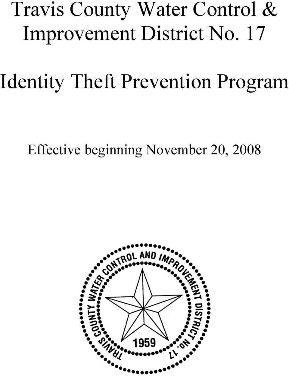 17 Identity Theft Prevention