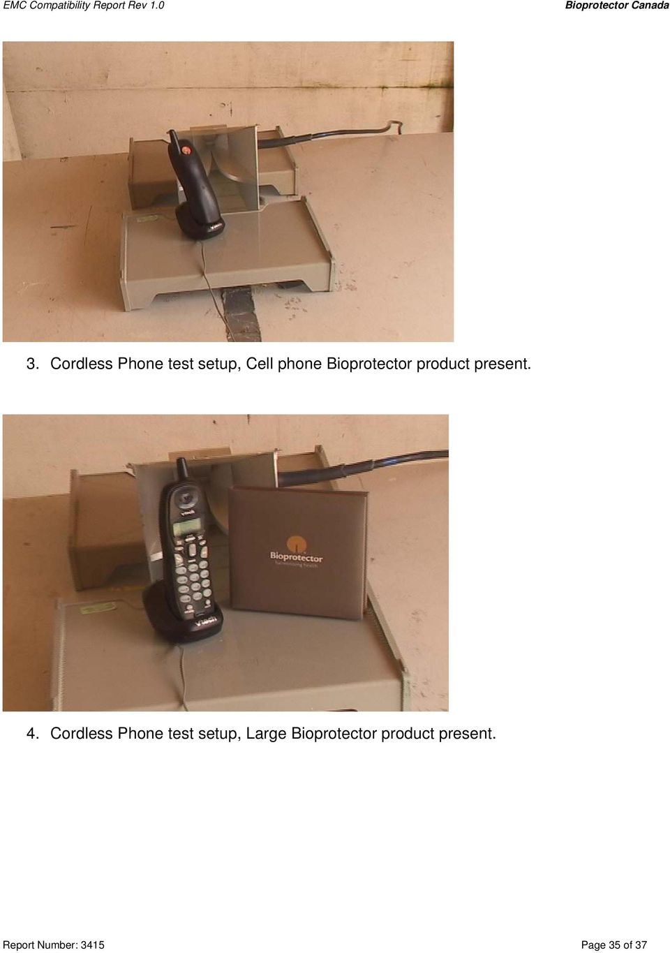 Cordless Phone test setup, Large