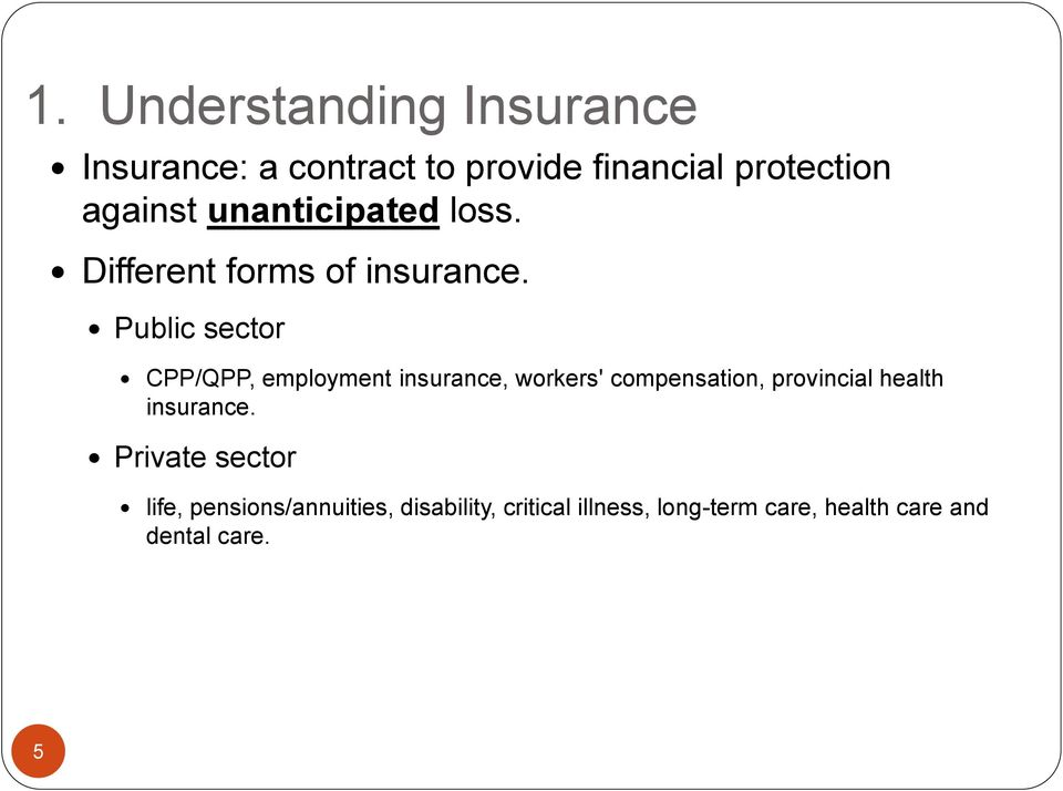 Public sector CPP/QPP, employment insurance, workers' compensation, provincial health