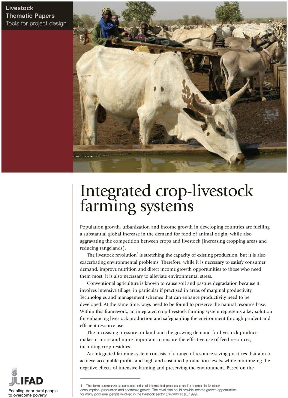 The livestock revolution 1 is stretching the capacity of existing production, but it is also exacerbating environmental problems.