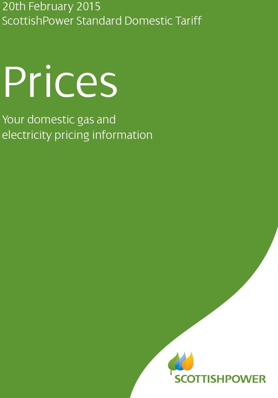Domestic Tariff Prices Your