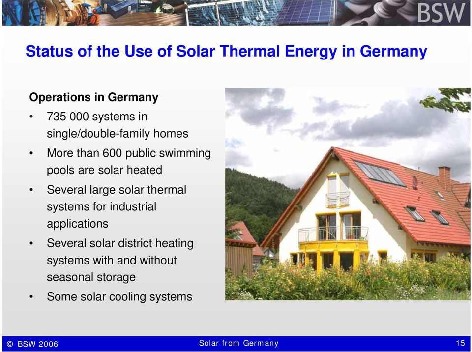 large solar thermal systems for industrial applications Several solar district heating