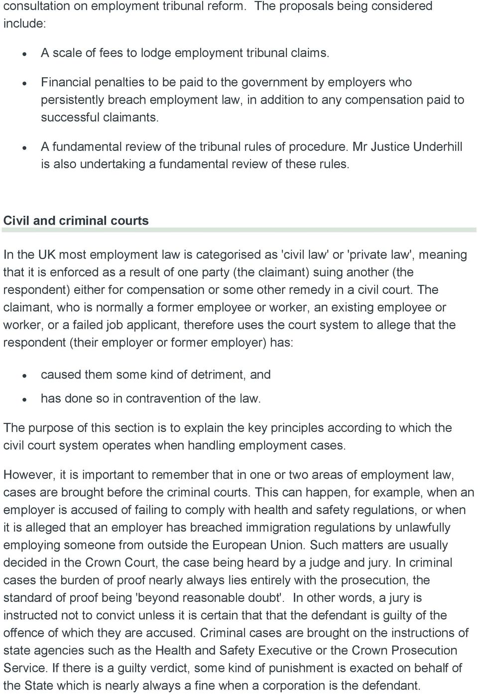What is an employment tribunal pdf a fundamental review of the tribunal rules of procedure mr justice underhill is also undertaking platinumwayz