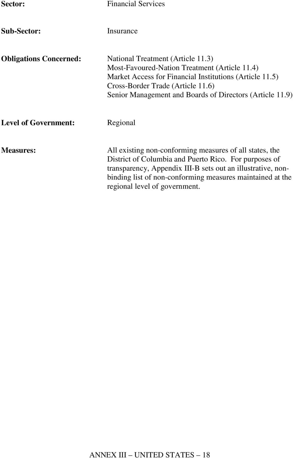 6) Senior Management and Boards of Directors (Article 11.