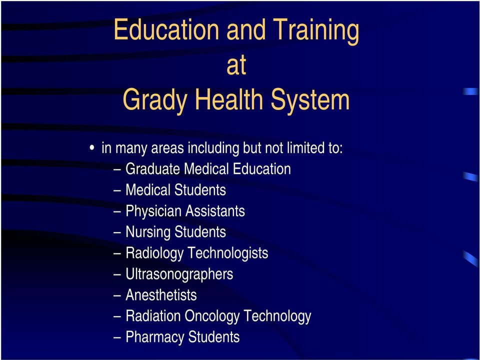 Students Physician Assistants Nursing Students Radiology