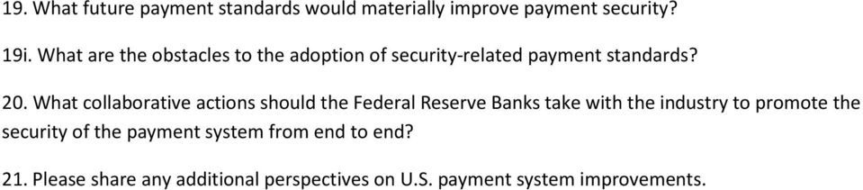 What collaborative actions should the Federal Reserve Banks take with the industry to promote the