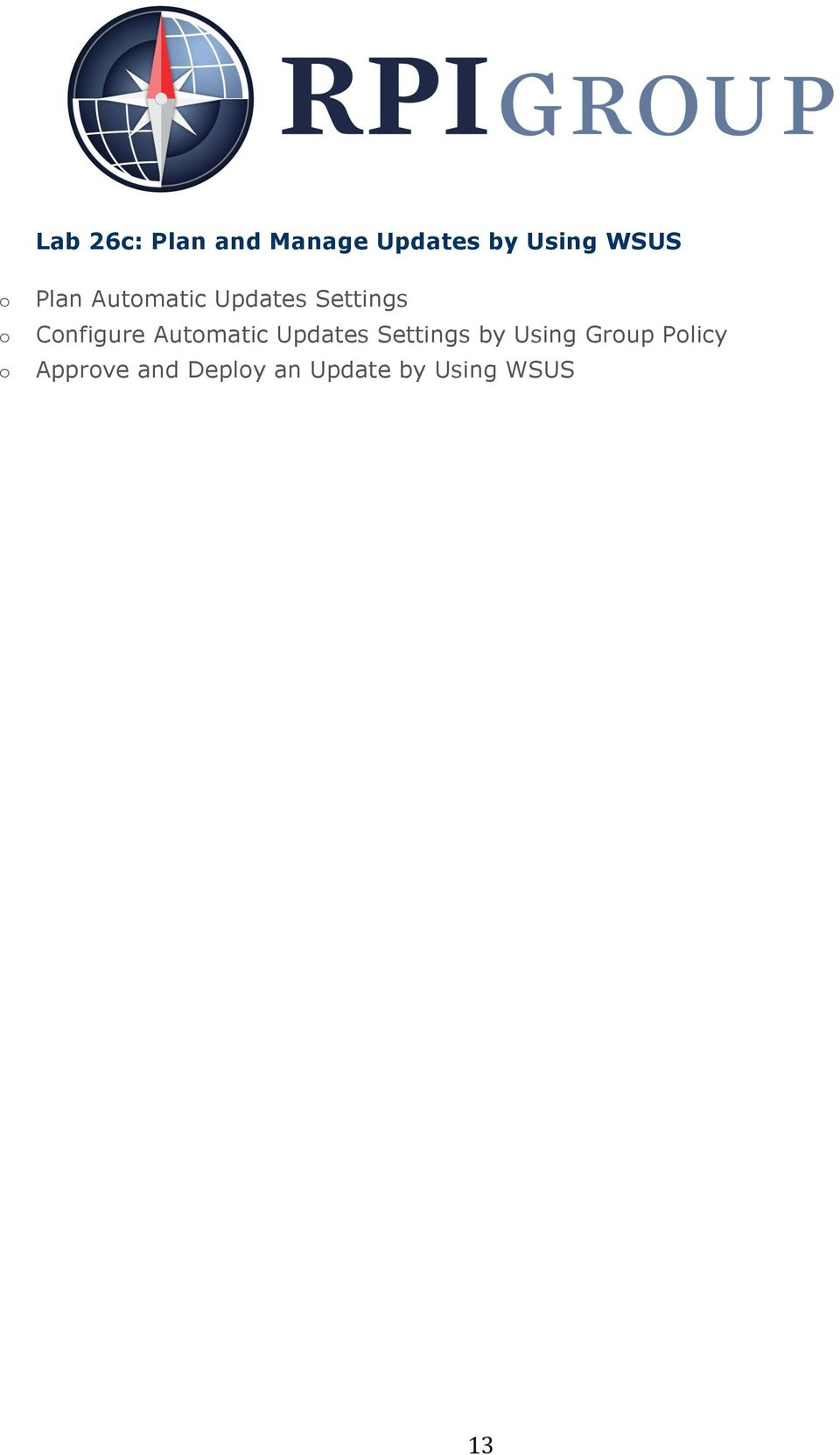 Cnfigure Autmatic Updates Settings by Using