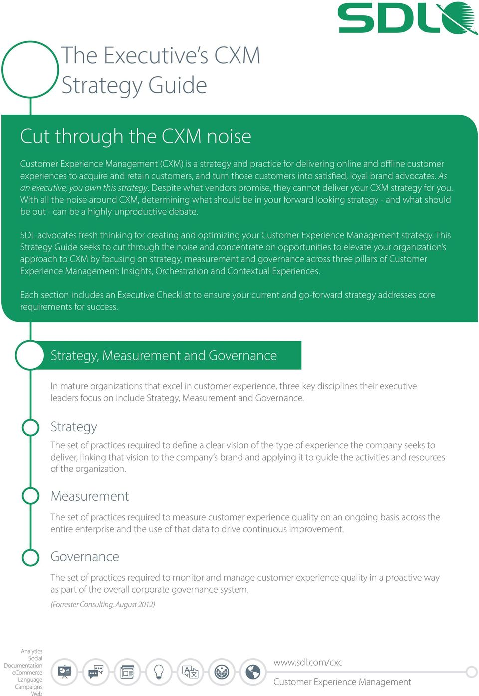 With all the noise around CXM, determining what should be in your forward looking strategy - and what should be out - can be a highly unproductive debate.