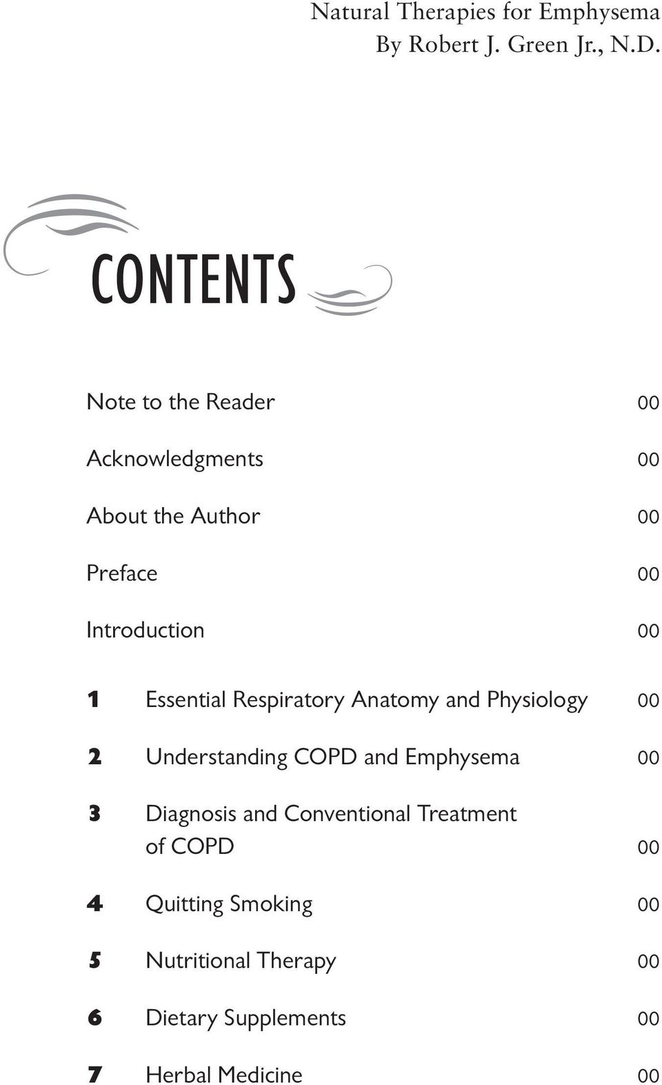 1 Essential Respiratory Anatomy and Physiology 00 2 Understanding COPD and Emphysema 00 3