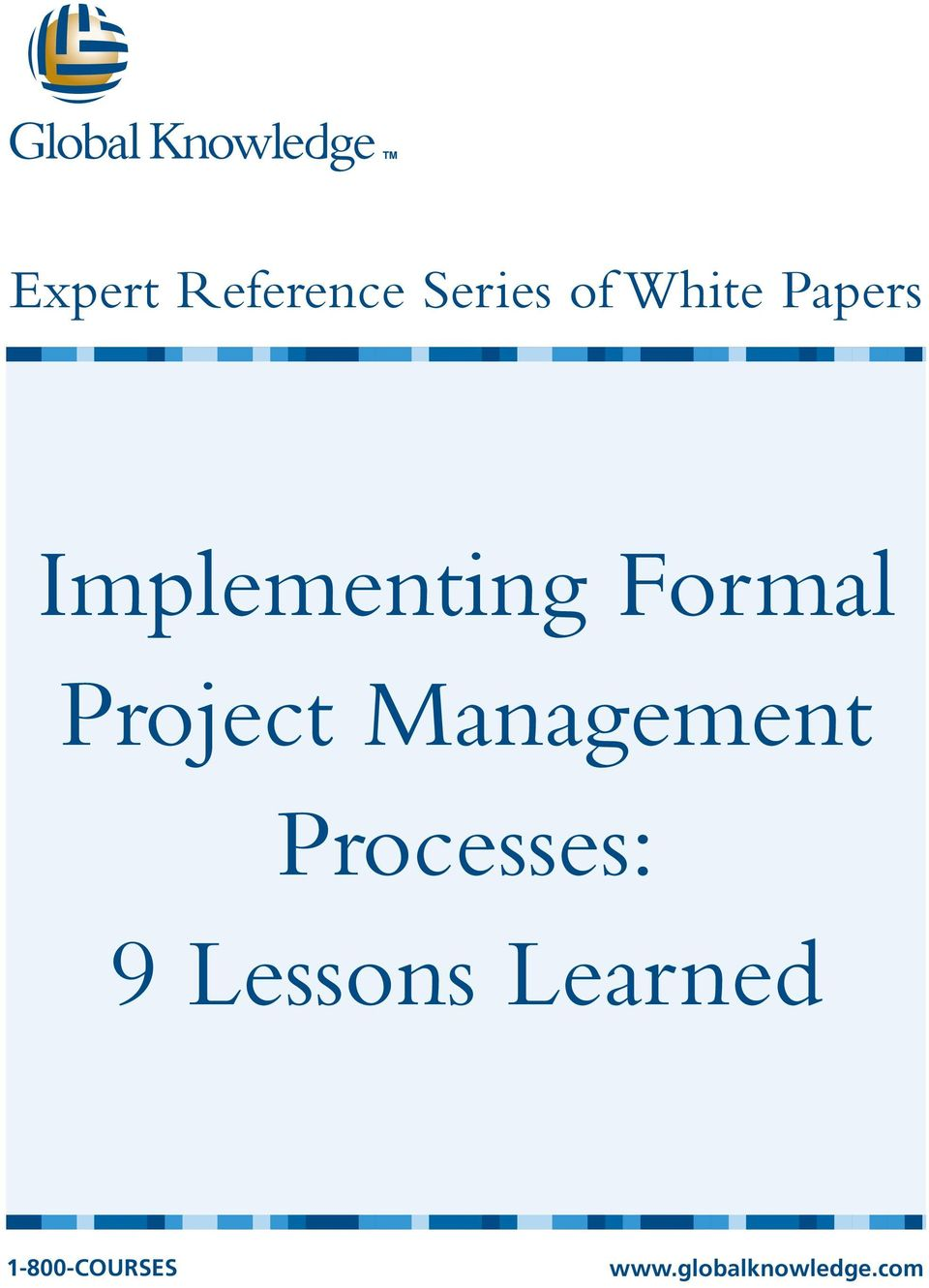 Management Processes: 9 Lessons