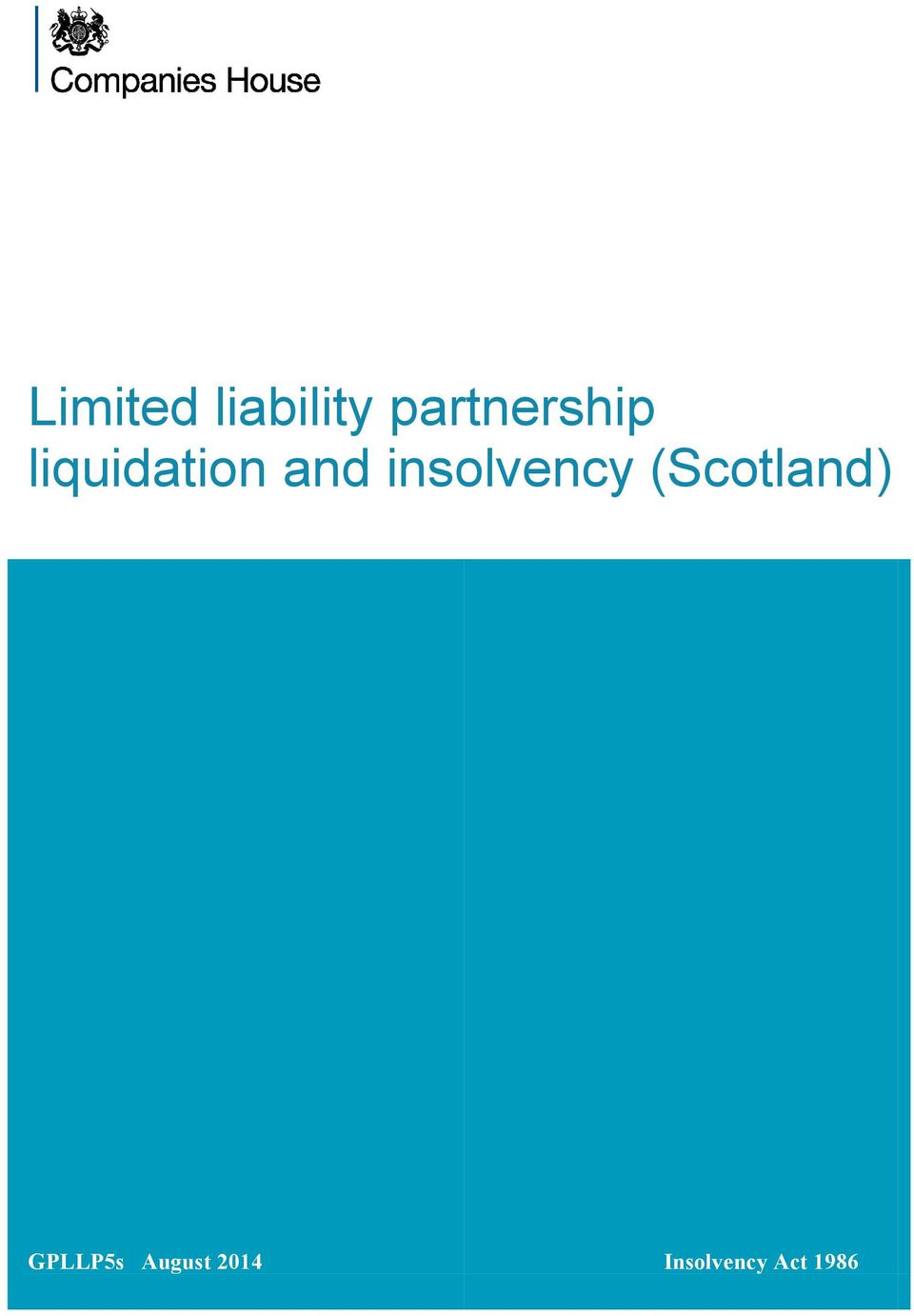 and insolvency (Scotland)
