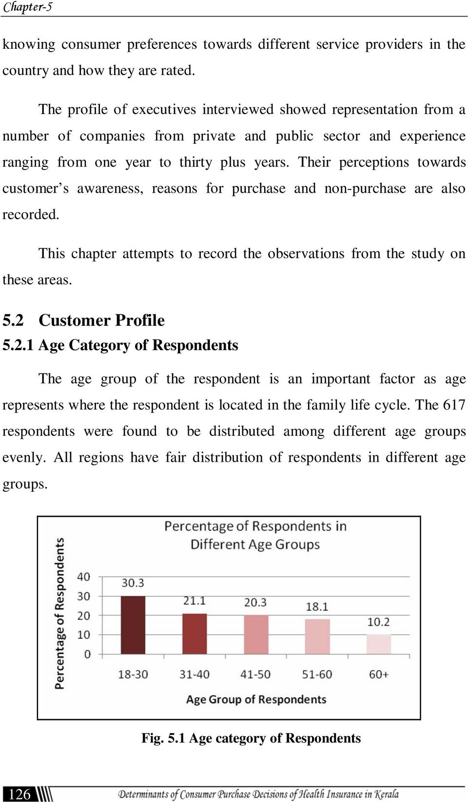 Their perceptions towards customer s awareness, reasons for purchase and non-purchase are also recorded. This chapter attempts to record the observations from the study on these areas. 5.