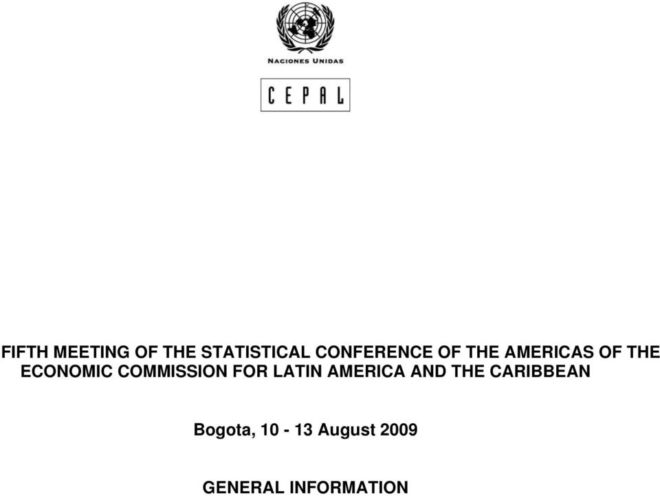 ECONOMIC COMMISSION FOR LATIN AMERICA AND