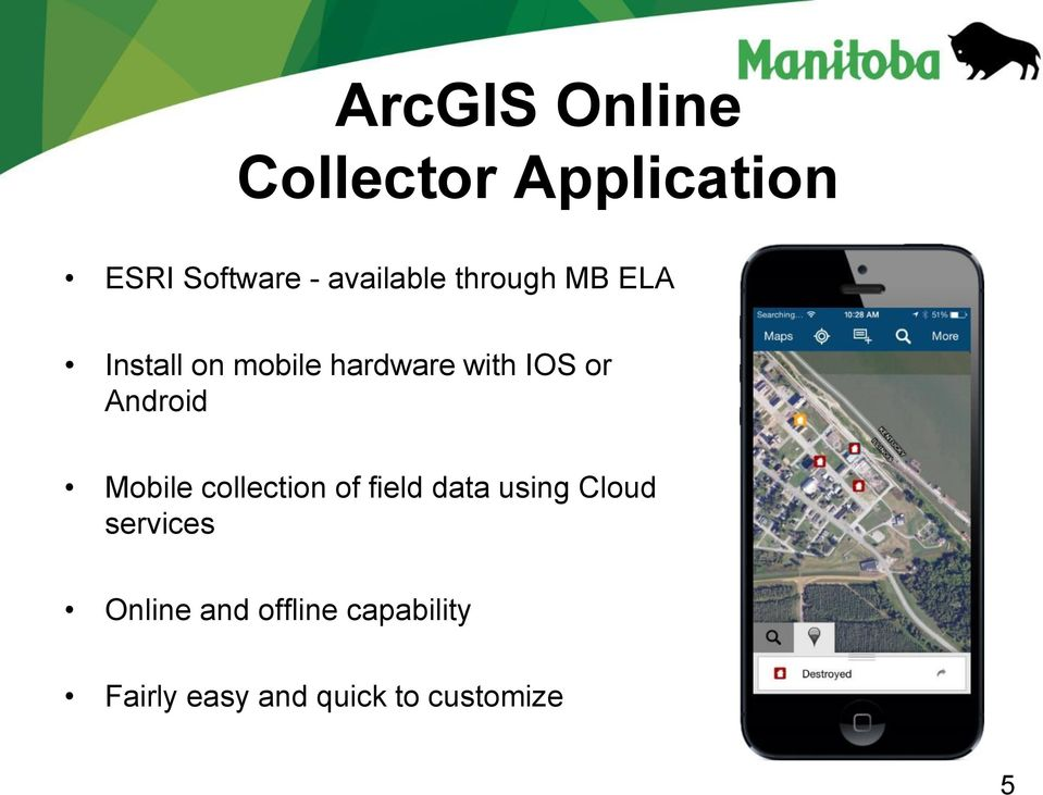 or Android Mobile collection of field data using Cloud