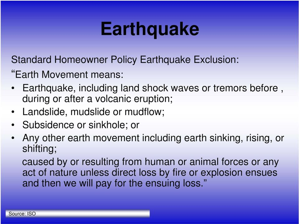 other earth movement including earth sinking, rising, or shifting; caused by or resulting from human or animal forces