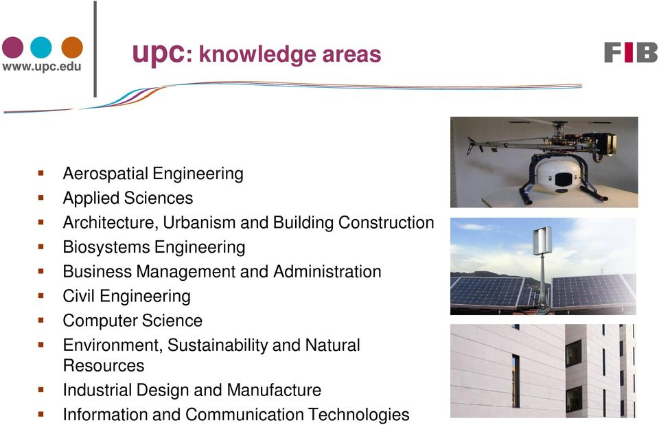 Administration Civil Engineering Computer Science Environment, Sustainability and