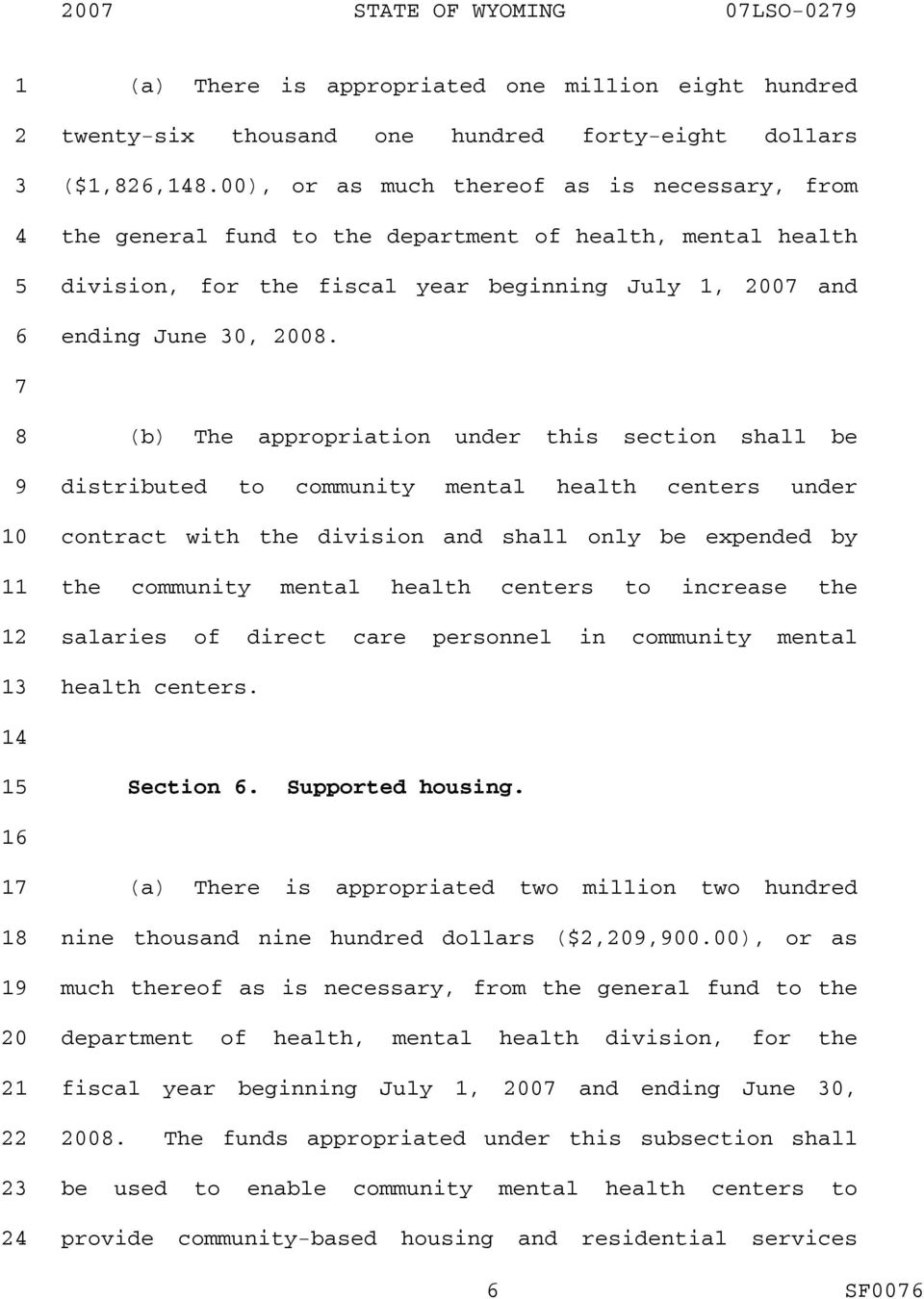 0 (b) The appropriation under this section shall be distributed to community mental health centers under contract with the division and shall only be expended by the community mental health centers